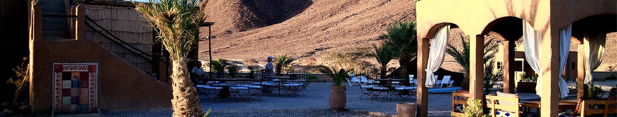 Hebergement auberge sud Maroc